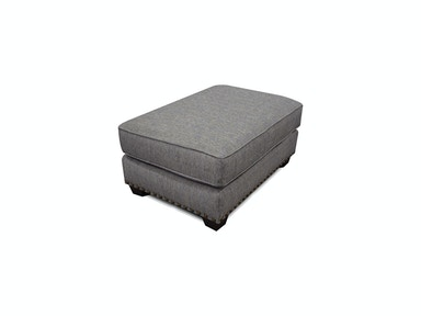 Adele Ottoman with Nails 5L07N