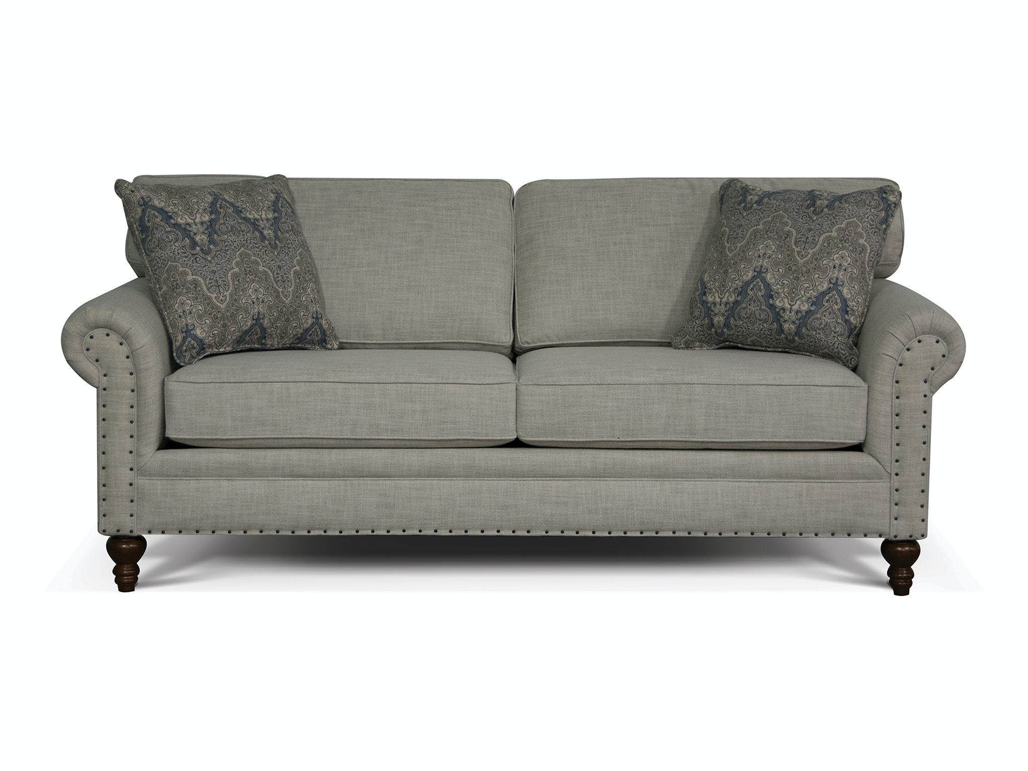 England Living Room Renea Sofa With Nails