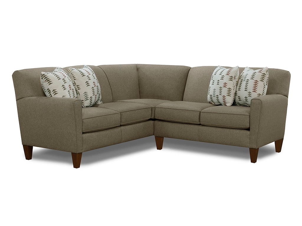 England living room collegedale sectional 6200 sect for England furniture