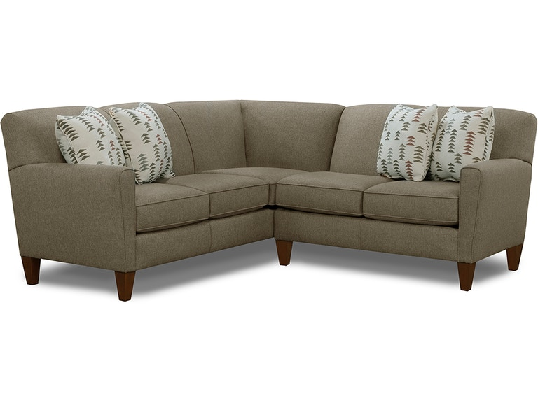 England Living Room Collegedale Sectional 6200 Sect