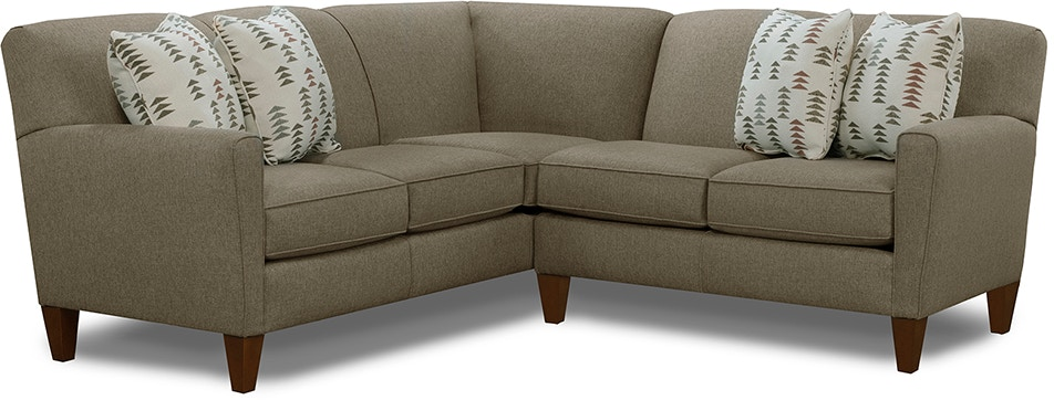 England Living Room Collegedale Sectional 6200 Sect England