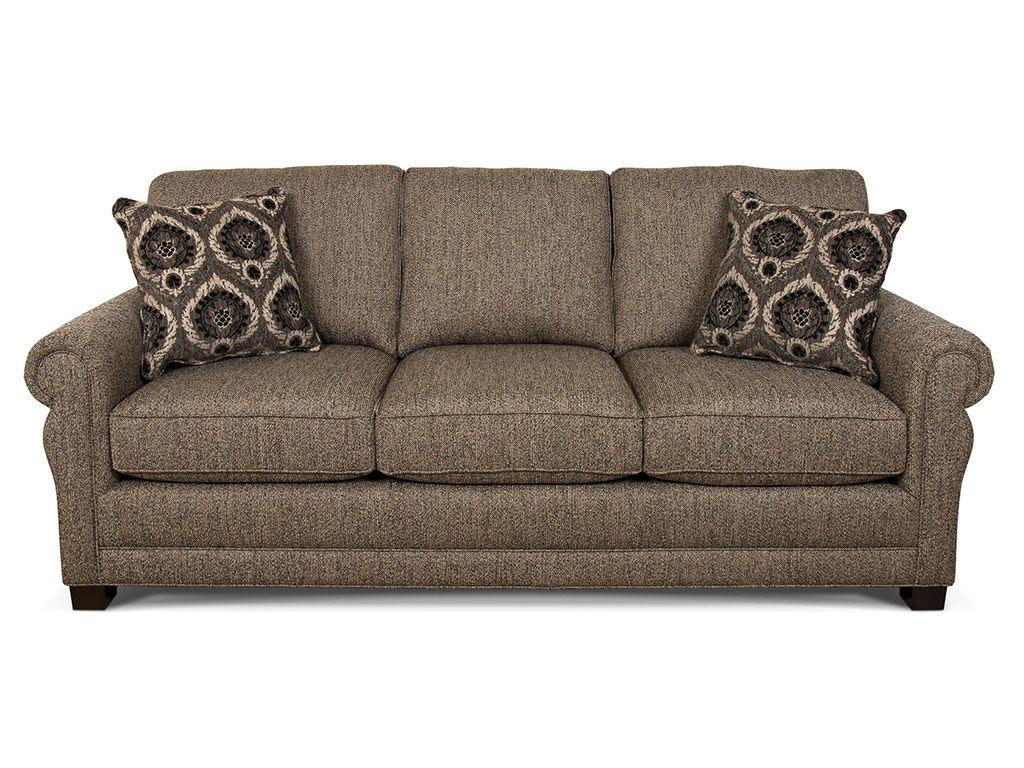 England Living Room Green Sofa 6935 B F Myers Furniture