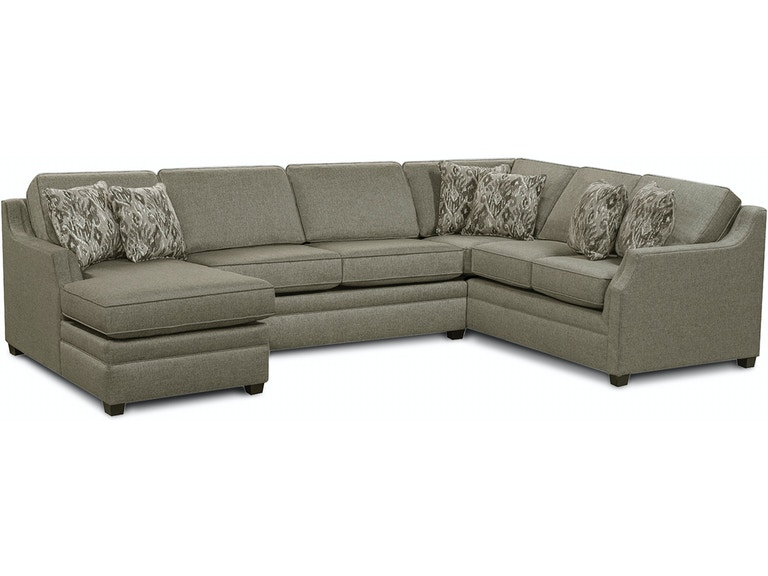 England Living Room Wilder Sectional 6W00-SECT - Weiss Furniture ...