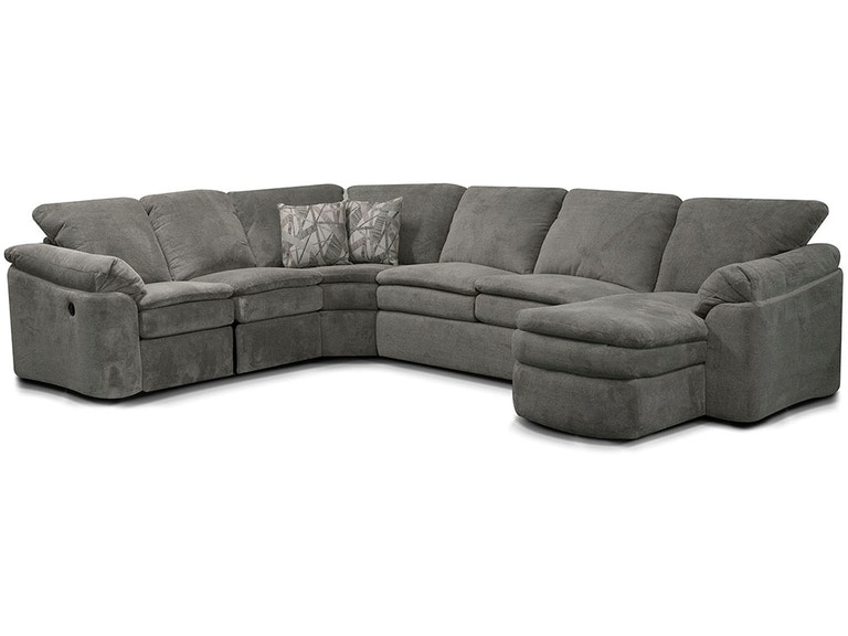 England living room seneca falls sectional 7300 sect for England leather sectional sofa