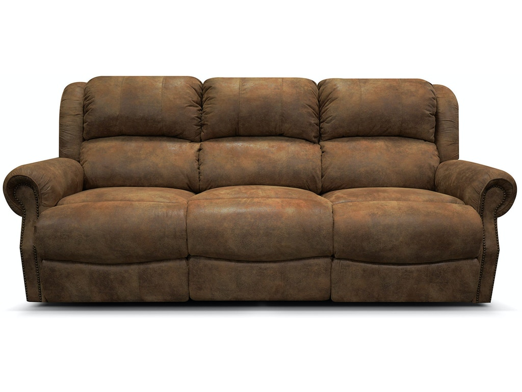 England Living Room Double Reclining Sofa With Nails