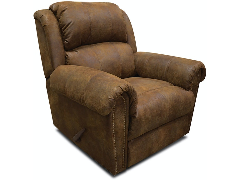 England Swivel Gliding Recliner with Nails EZ5Y0070N