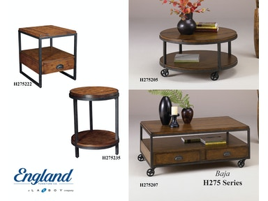 England Baja Tables H275