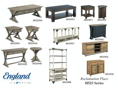 England Reclamation Place Tables H523