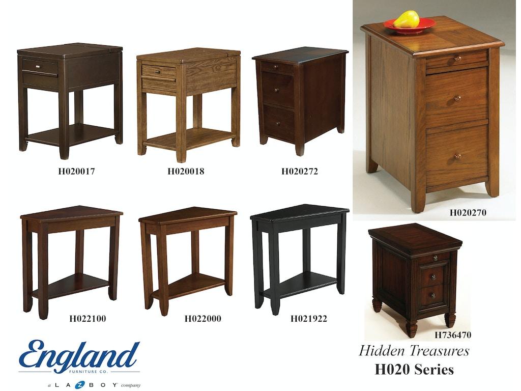 England Living Room Hidden Treasures Tables H020 Nehligs Furniture Stratford Nj