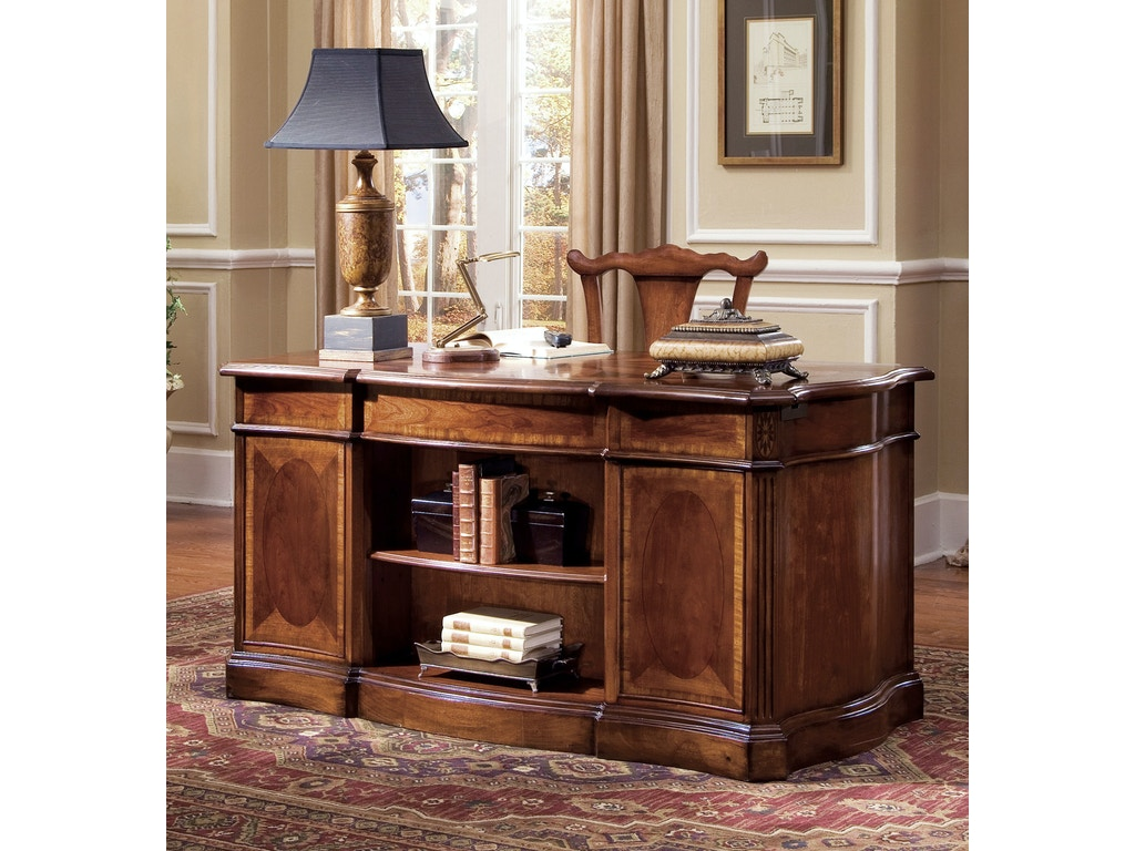Hooker Furniture Home Office Belle Grove 60 Desk 060 10 460 Bartlett Home Furnishings