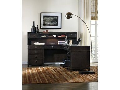 Hooker Furniture Kendrick L Desk Hutch