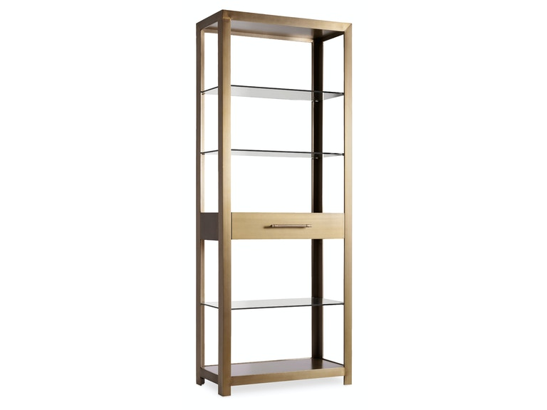 Hooker Furniture Curata Bunching Bookcase 1600-10445-MTL1