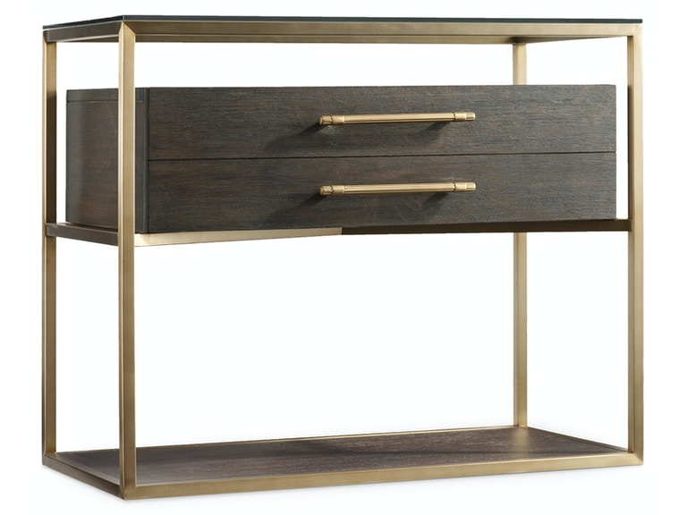 Hooker Furniture Curata One-Drawer Nightstand 1600-90016-DKW