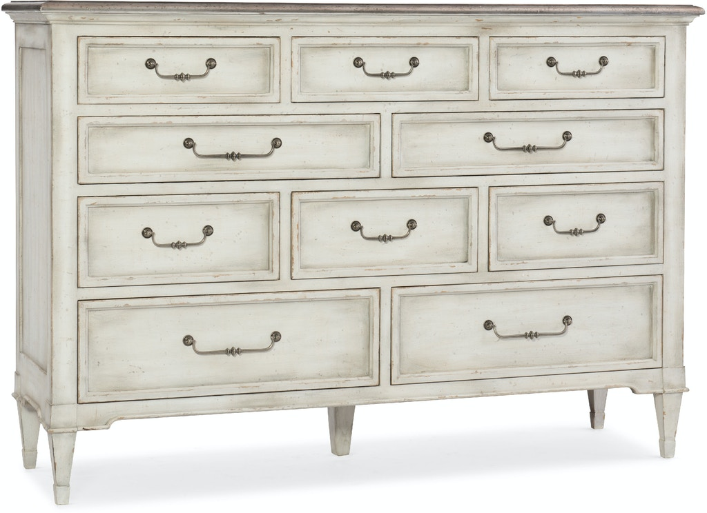 Hooker Furniture Bedroom Arabella Ten Drawer Dresser 1610