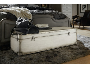 Hooker Furniture Bedroom Arabella Storage Bench 1610 90019