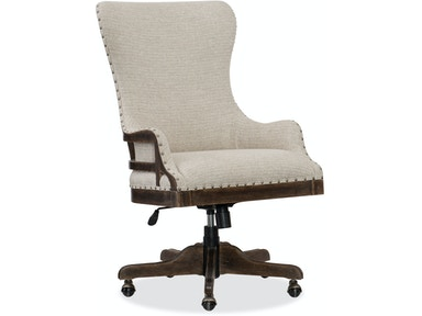 Hooker Furniture Roslyn County Deconstructed Tilt Swivel Chair 1618 30220 DKW