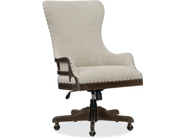 Hooker Furniture Roslyn County Deconstructed Tilt Swivel Chair 1618-30220-DKW