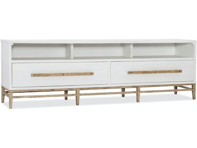 Hooker Furniture Urban Elevation Low Entertainment Console 1620-55488-WH