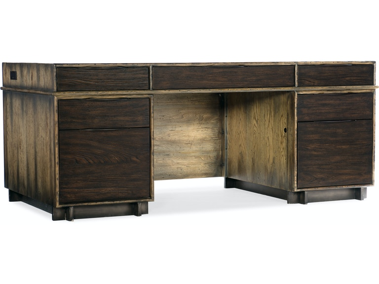 Hooker Furniture Home Office Crafted Executive Desk 4848DKW48 Enchanting Hooker Furniture Home Office