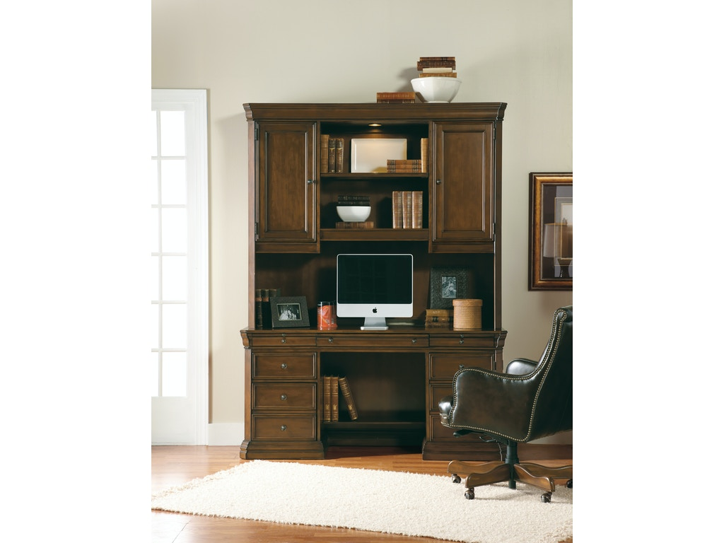 Hooker furniture home office cherry creek computer credenza 258 10 464 drury 39 s inc fountain mn - Hooker home office furniture ...