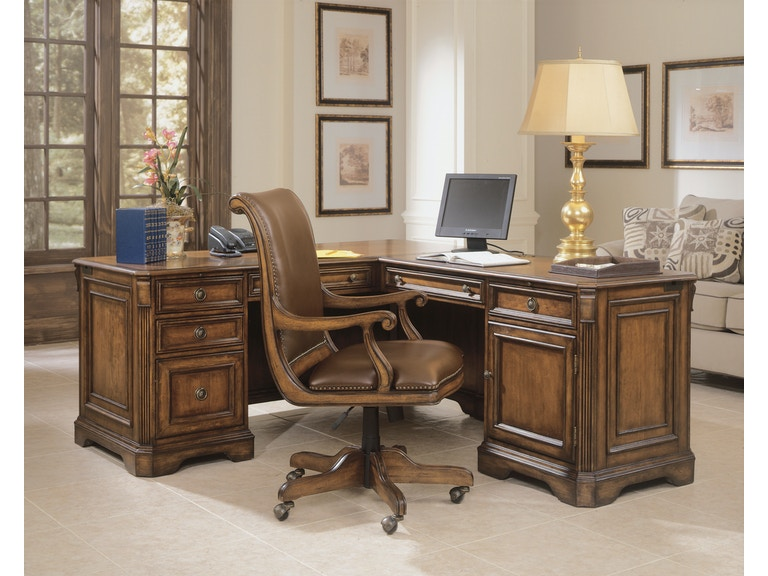 Hooker Furniture Brookhaven Executive L Right Return 281-10-453