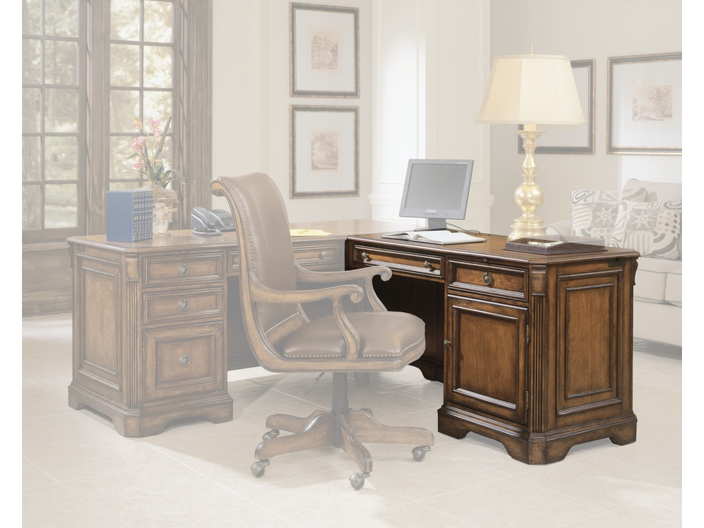 Hooker Furniture Home Office Brookhaven Right Pedestal Return 281 10 473 Bartlett Home