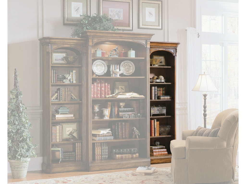 Hooker Furniture Home Office Brookhaven Right Bookcase 281 10 542 Galeries Acadiana Baton