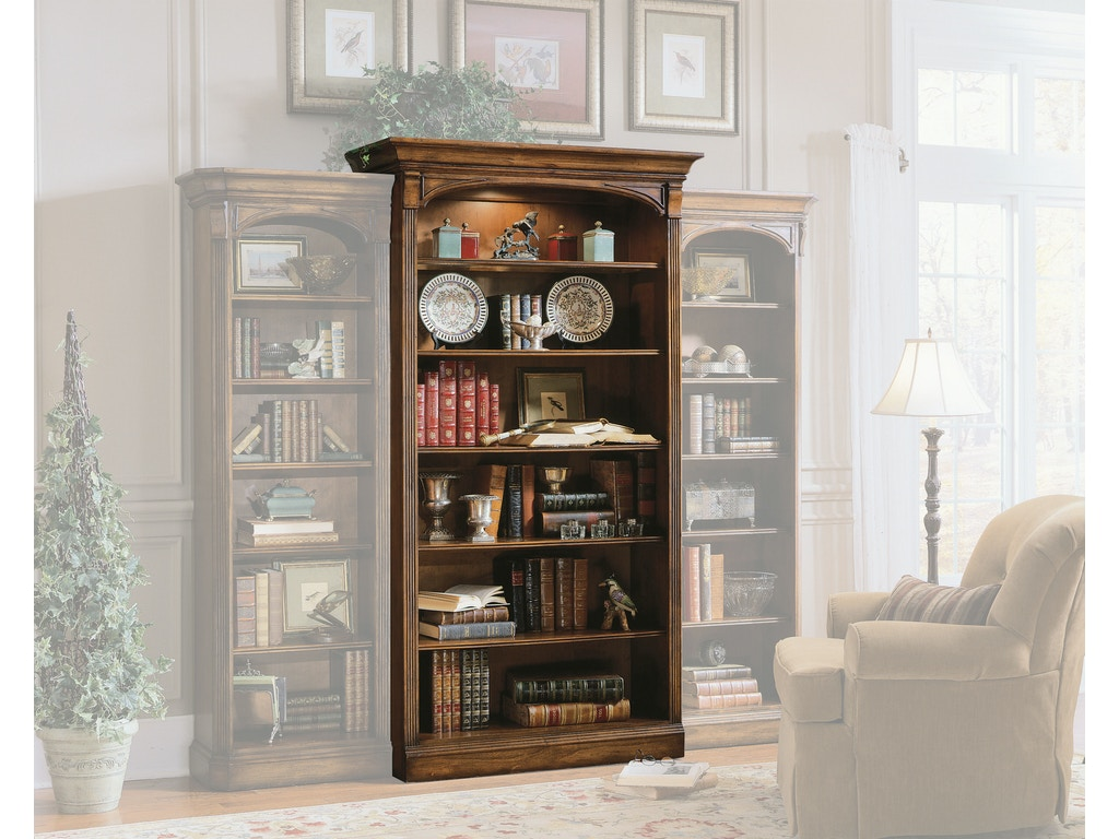 Hooker Furniture Home Office Brookhaven Open Bookcase 281 10 545 Galeries Acadiana Baton