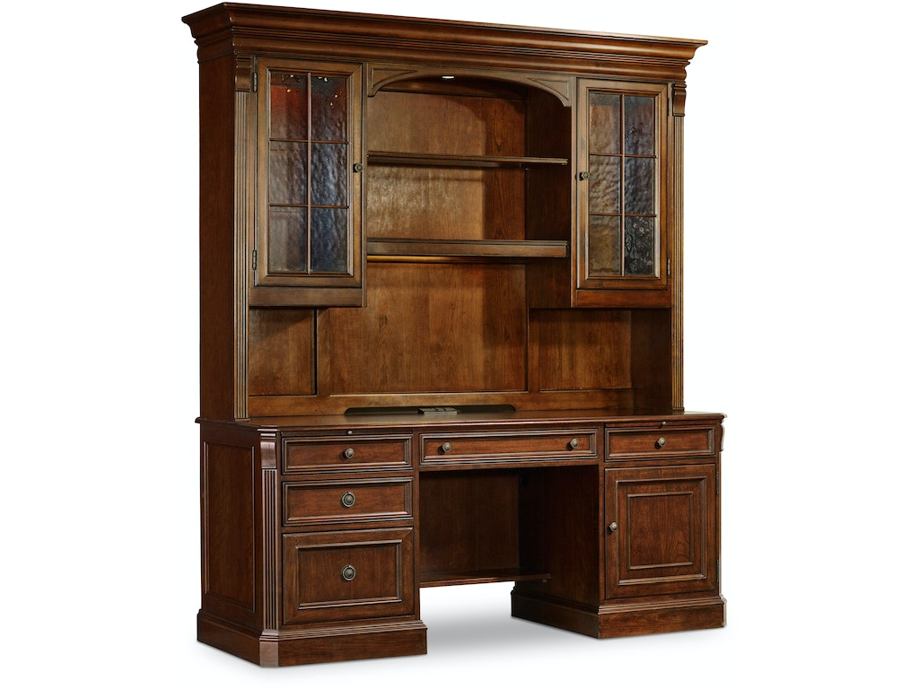 Hooker Furniture Home Office Brookhaven Hutch 281 10 467 American Factory Direct Baton Rouge