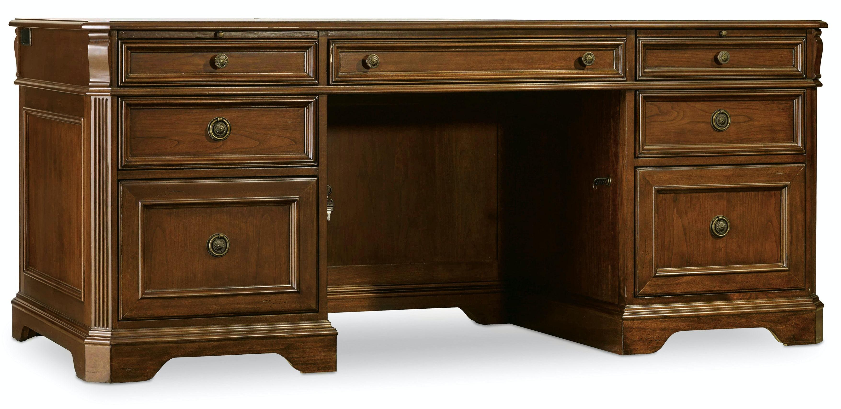 Hooker Furniture Brookhaven Executive Desk 281 10 583