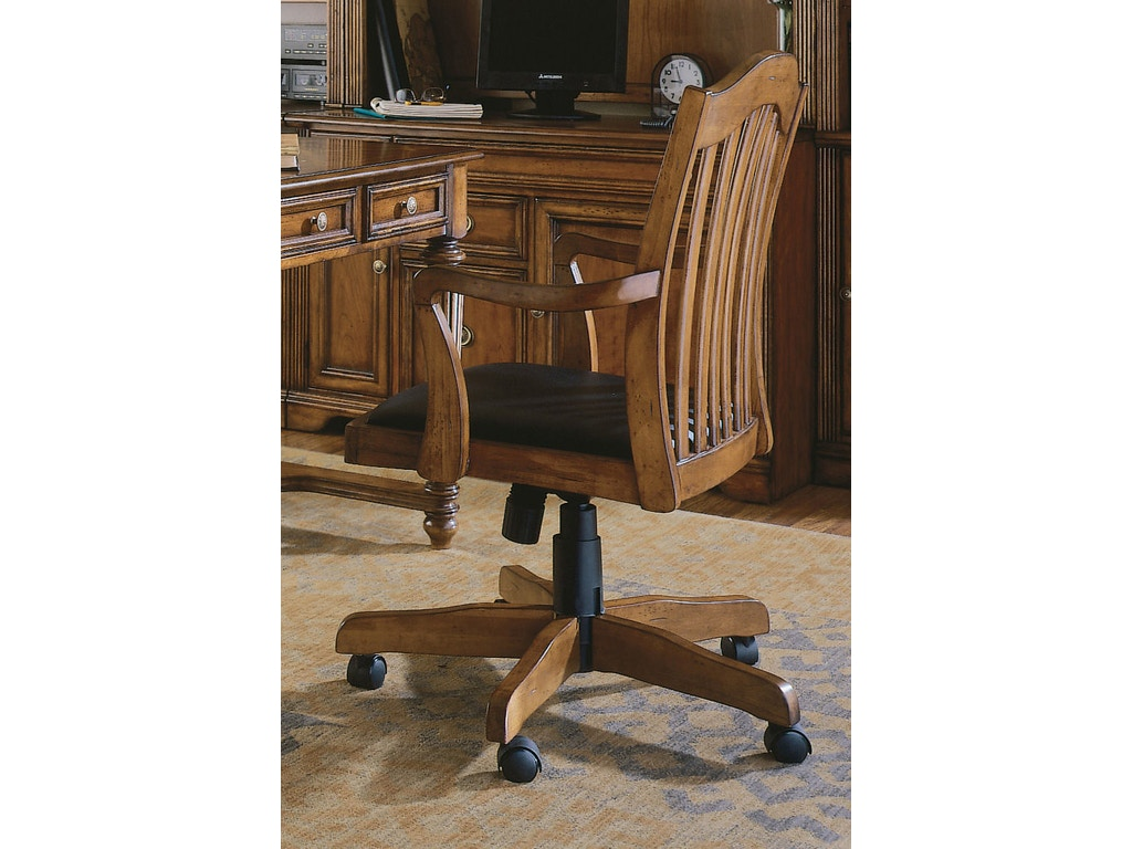 Hooker Furniture Home Office Brookhaven Tilt Swivel Chair 281 30 275 Galeries Acadiana Baton