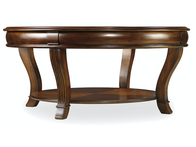 Hooker Furniture Living Room Brookhaven Round Cocktail Table 281 80 111