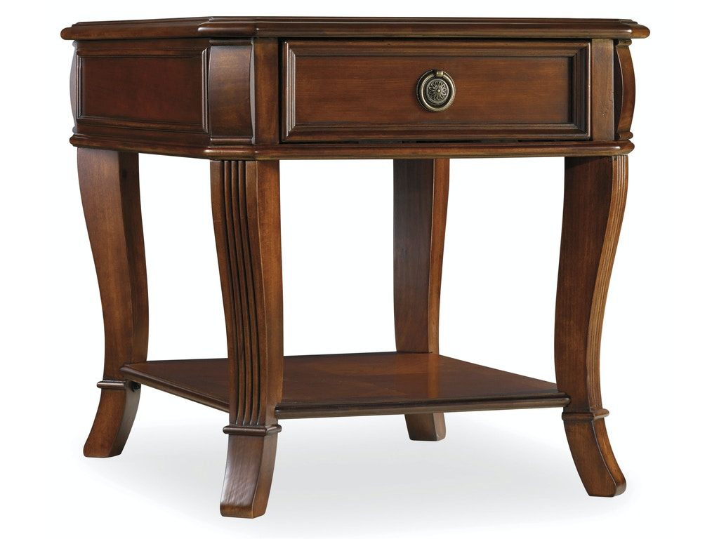 Hooker furniture living room brookhaven end table 281 80 for Furniture today