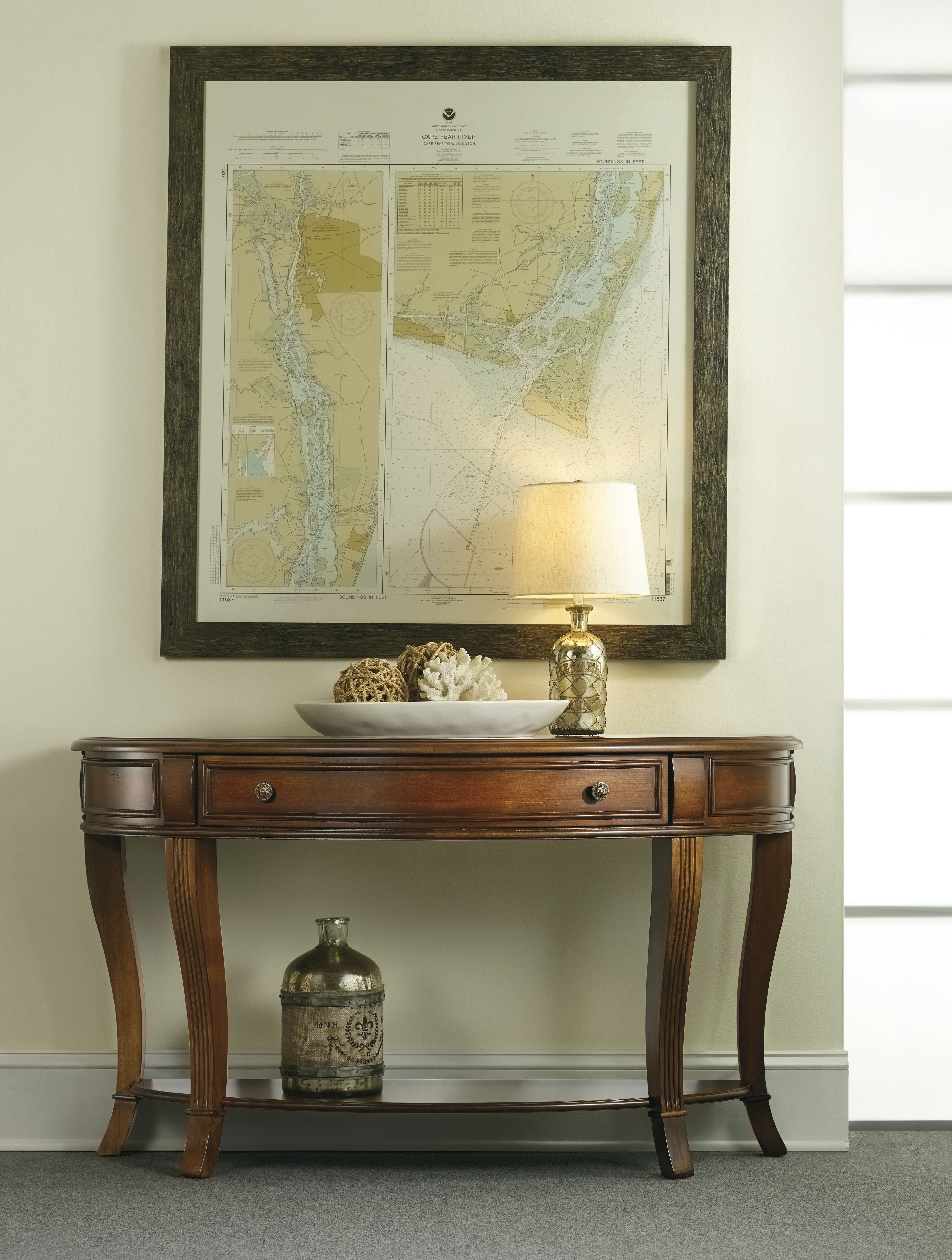 ... Hooker Furniture Brookhaven Console Table 281 80 151