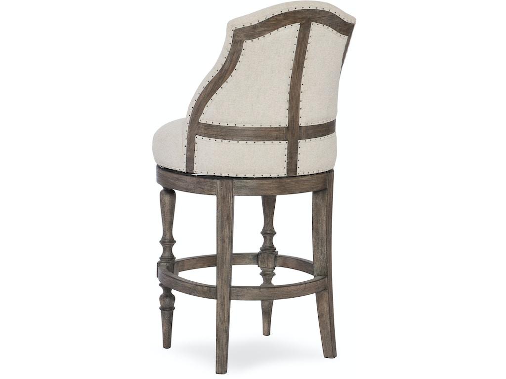 Hooker Furniture Dining Room Kacey Deconstructed Counter Stool 300 25044 Schmitt Furniture