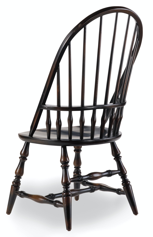 Bon Hooker Furniture Dining Room Sanctuary Windsor Side Chair Ebony 3005 75330    Home Inspirations Thomasville   Princeton, Woodbridge And Rockaway, NJ
