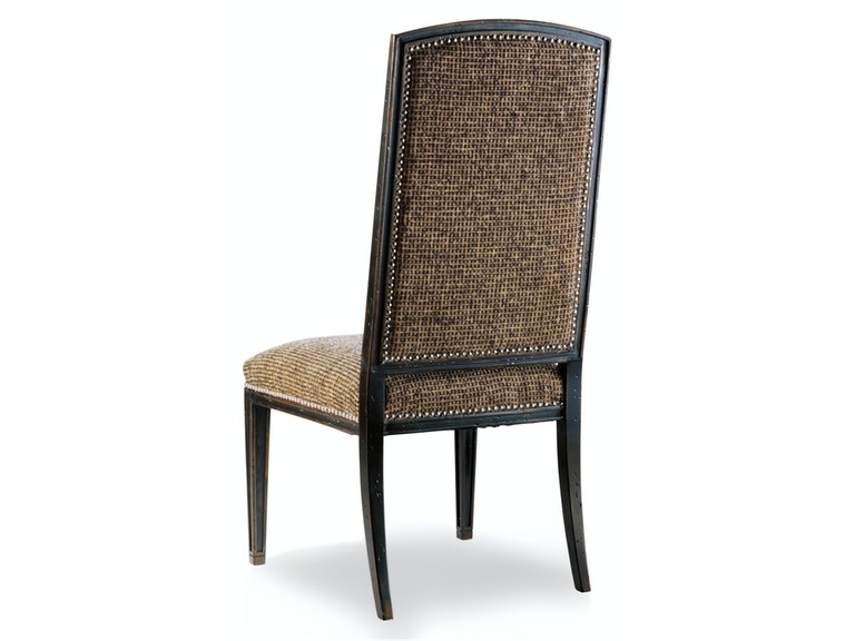 Hooker Furniture Sanctuary Mirage Side Chair-Ebony 3005-75410