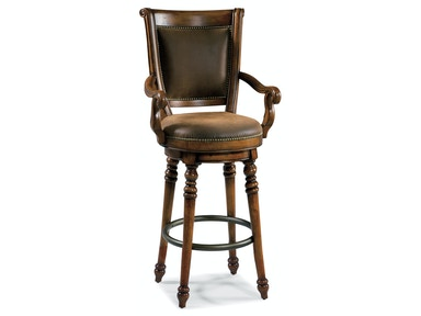 Hooker Furniture Waverly Place Memory Swivel Bar Stool 366-75-560