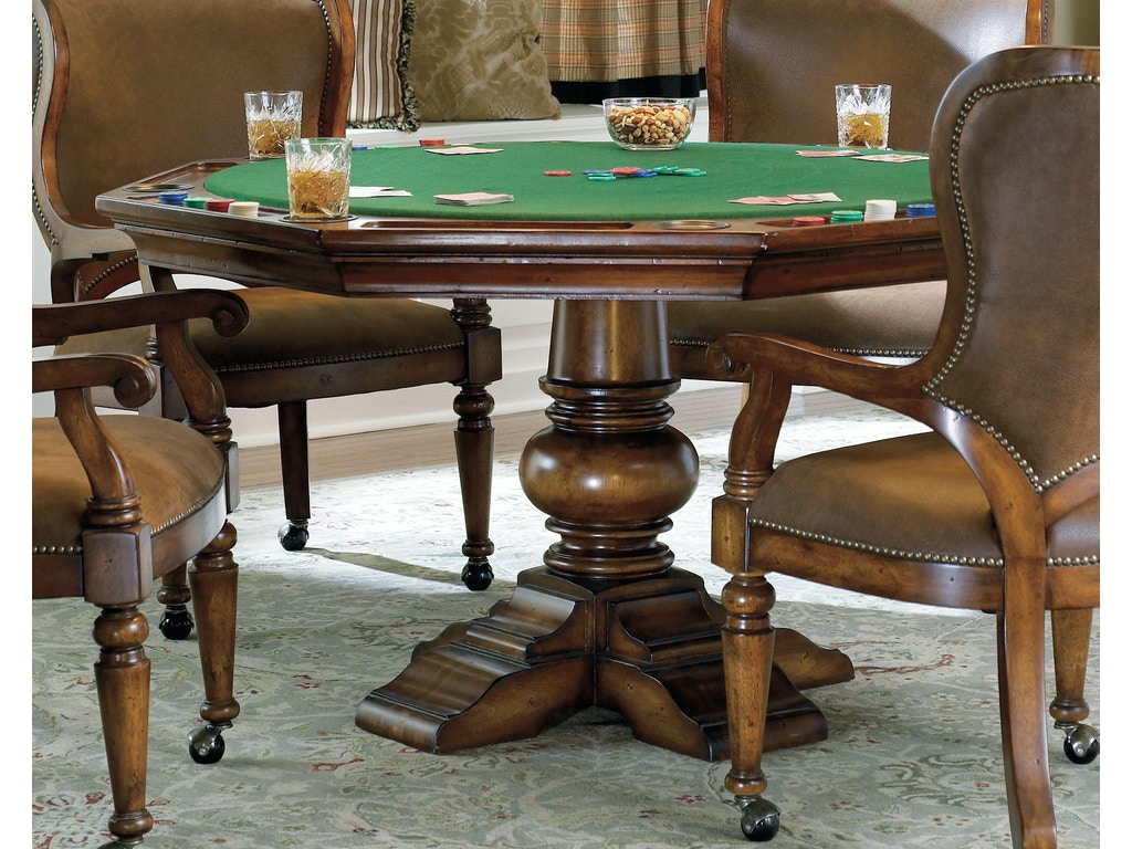 Counter Height Poker Table : ... Furniture Bar and Game Room Waverly Place Reversible Top Poker Table