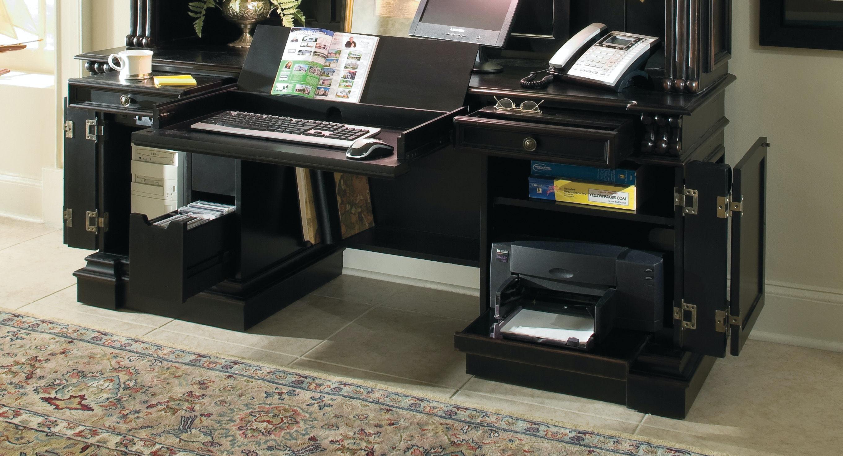 ... Hooker Furniture Telluride Computer Credenza 370 10 464 ...