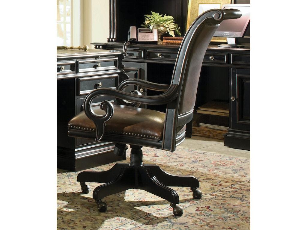 Hooker Furniture Home Office Telluride Tilt Swivel Chair 370 30 220 Galeries Acadiana Baton