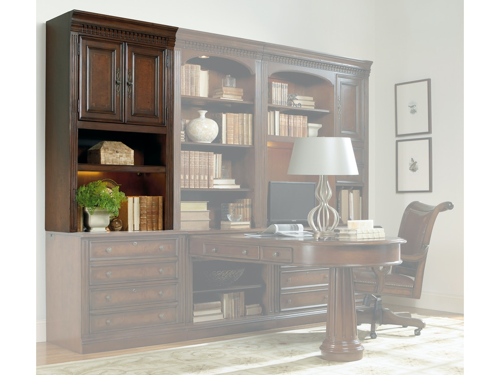 hooker furniture home office european renaissance ii modular group at