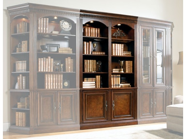 "Hooker Furniture European Renaissance II 48"" Wall Bookcase 374-10-448"
