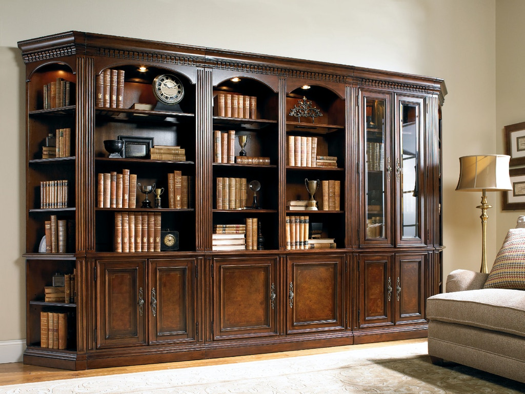 hooker furniture home office european renaissance ii 32 door bookcase