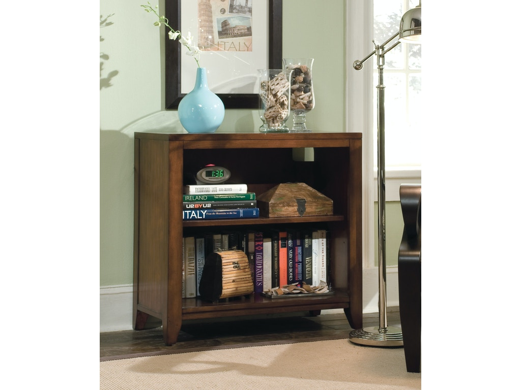 Hooker furniture home office danforth low bookcase 388 10 for Furniture yakima wa