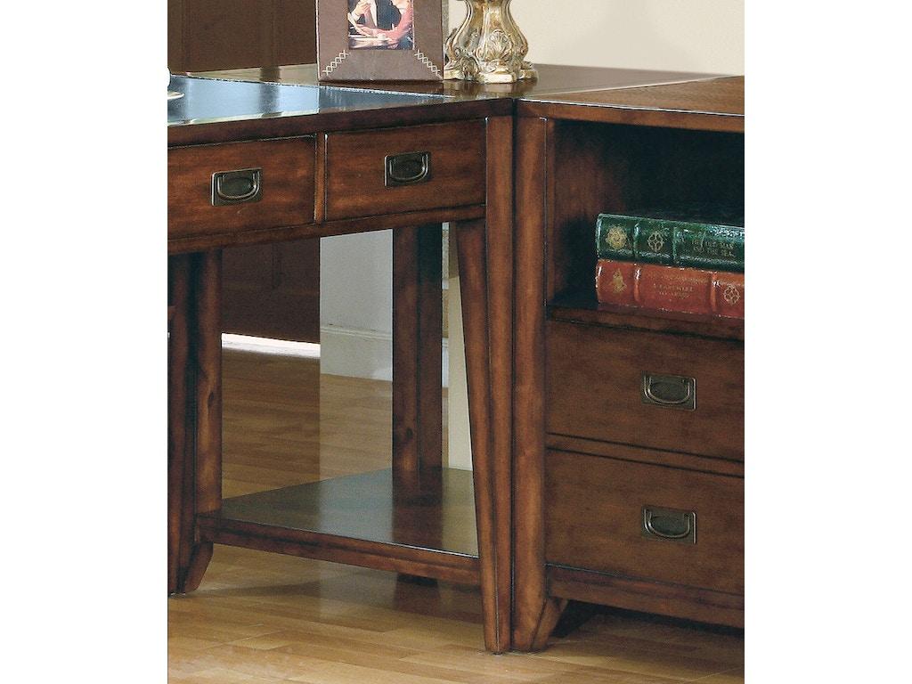 Hooker furniture home office danforth corner unit 388 10 484 louis shanks austin san antonio tx - Hooker home office furniture ...