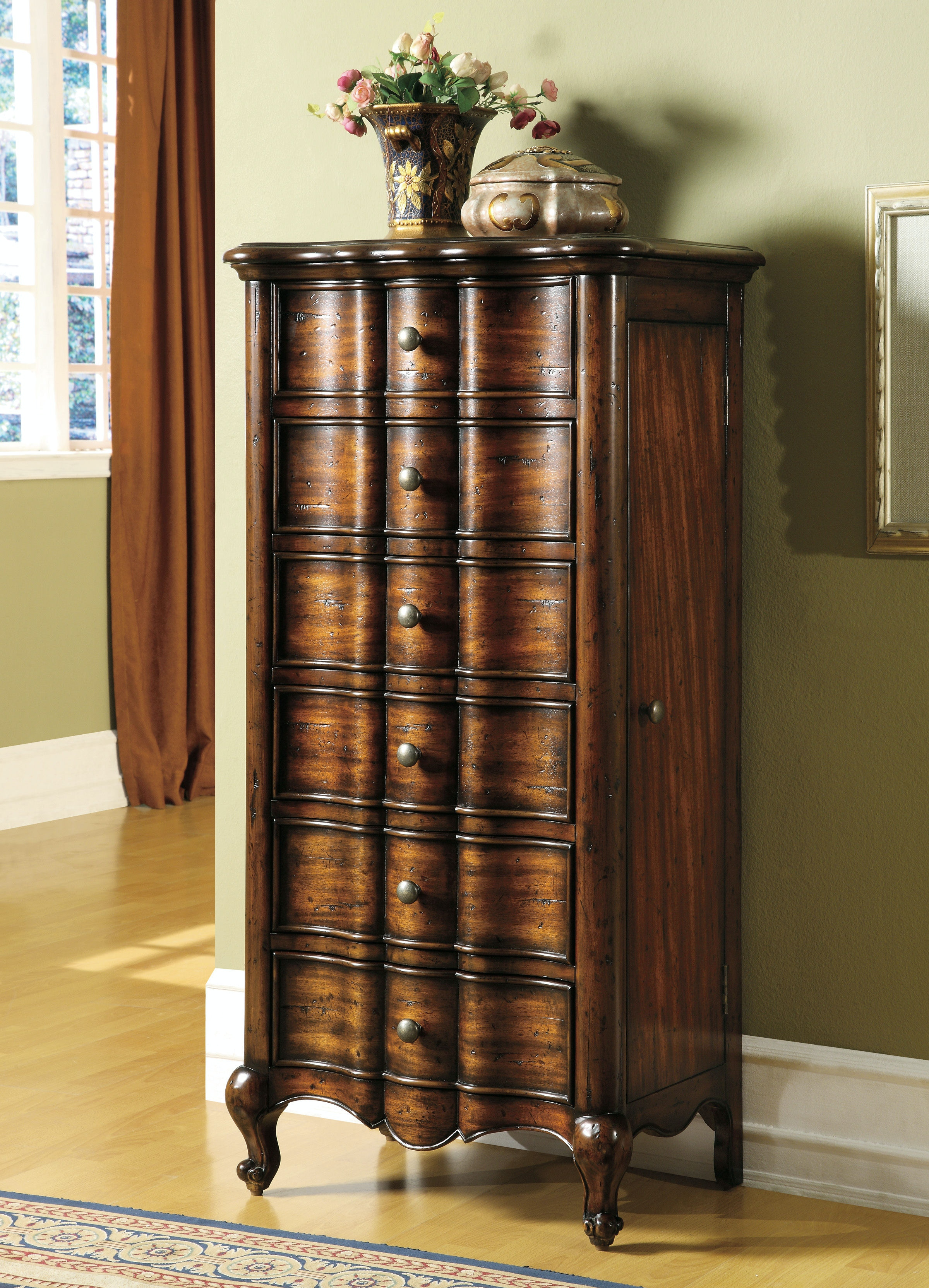 Hooker Furniture French Jewelry Armoire 500 50 757