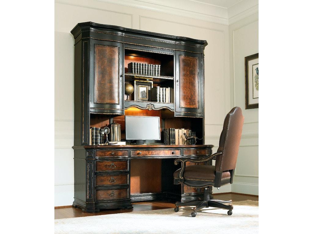 Hooker furniture home office grandover computer credenza 5029 10464 mcarthur furniture - Home office furniture canada ...