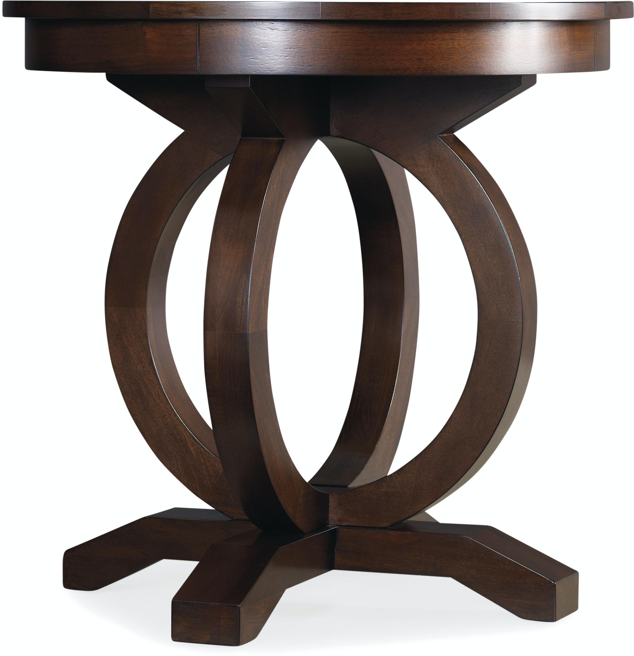 Hooker Furniture Living Room Kinsey Round End Table 5066 80116