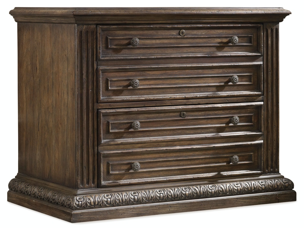 Hooker Furniture Home Office Rhapsody Lateral File 5070 10466 Whitley Furniture Galleries